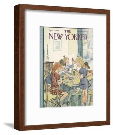 The New Yorker Cover - April 17, 1954