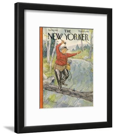 The New Yorker Cover - April 19, 1952