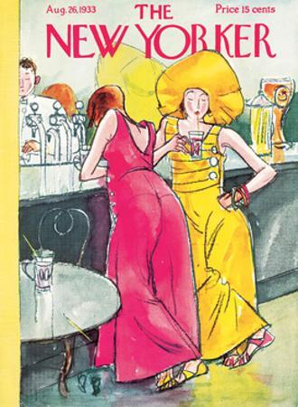The New Yorker Cover - August 26, 1933 by Perry Barlow