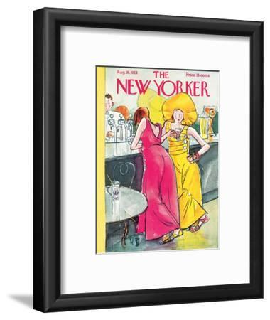 The New Yorker Cover - August 26, 1933