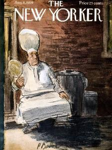 The New Yorker Cover - August 8, 1959 by Perry Barlow
