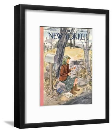 The New Yorker Cover - February 13, 1954
