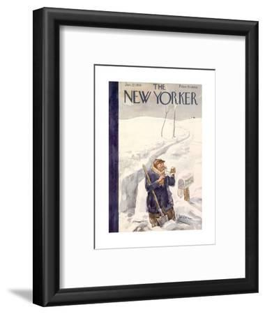The New Yorker Cover - January 22, 1938