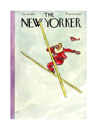 The New Yorker Cover - January 26, 1935