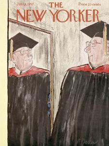 The New Yorker Cover - June 1, 1957 by Perry Barlow