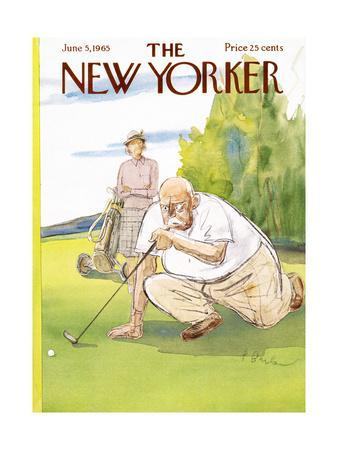 The New Yorker Cover - June 5, 1965