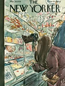 The New Yorker Cover - March 28, 1936 by Perry Barlow