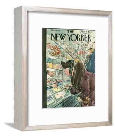 The New Yorker Cover - March 28, 1936