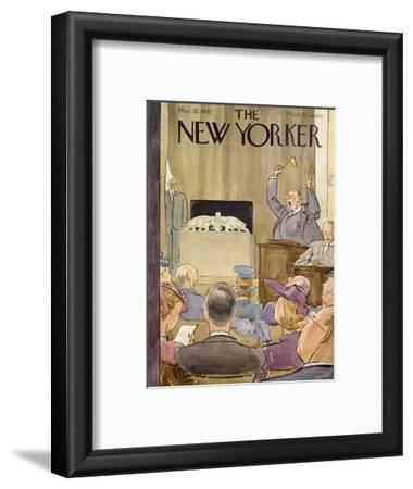The New Yorker Cover - March 28, 1942