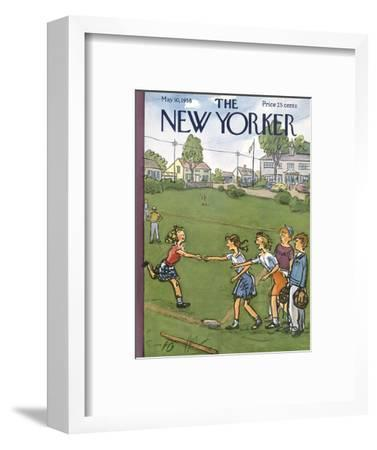 The New Yorker Cover - May 10, 1958