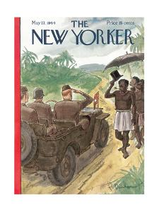 The New Yorker Cover - May 27, 1944 by Perry Barlow