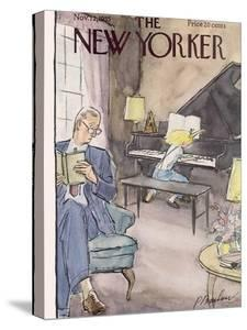 The New Yorker Cover - November 12, 1955 by Perry Barlow