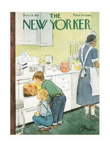 The New Yorker Cover - November 24, 1951 by Perry Barlow