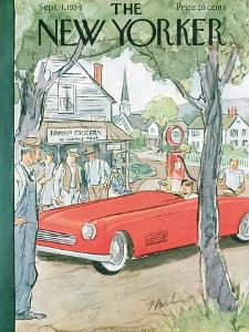 The New Yorker Cover - September 4, 1954 by Perry Barlow