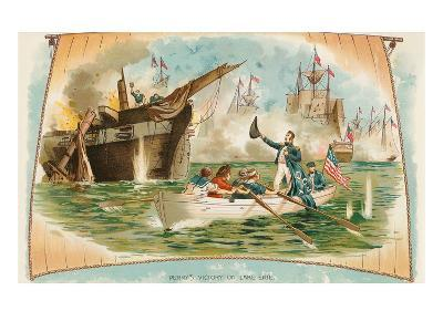 Perry's Victory on Lake Erie--Art Print