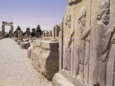 Persepolis, Unesco World Heritage Site, Iran, Middle East-Sergio Pitamitz-Photographic Print