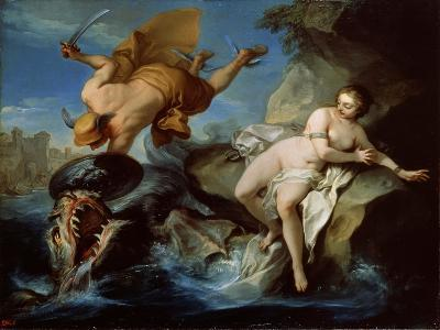 Perseus and Andromeda, 17th Century-Carle van Loo-Giclee Print