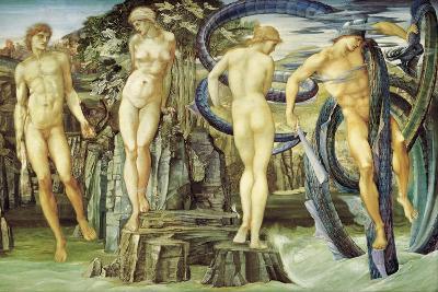Perseus and Andromeda, 1876-Edward Burne-Jones-Giclee Print