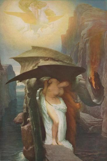 'Perseus and Andromeda', 1891, (1918)-Frederic Leighton-Giclee Print