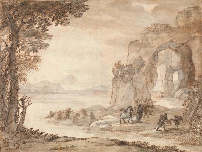 Perseus and the Origin of Coral, c.1671-Claude Lorraine-Giclee Print