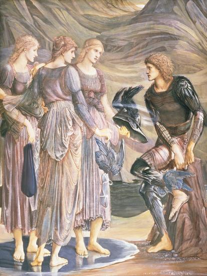 Perseus and the Sea Nymphs, C.1876-Edward Burne-Jones-Giclee Print