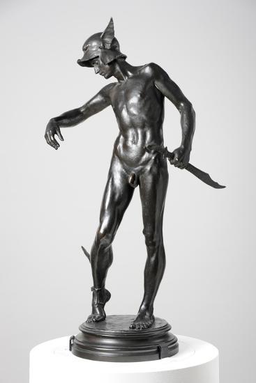 Perseus Arming, 1882, Cast 1910-Alfred Gilbert-Giclee Print