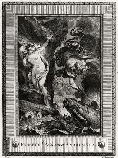 Perseus Delivering Andromeda, 1775-W Walker-Giclee Print