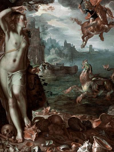 Perseus Rescuing Andromeda, 1611-Joachim Wtewael-Giclee Print