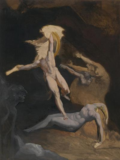 Perseus Slaying the Medusa-Henry Fuseli-Giclee Print