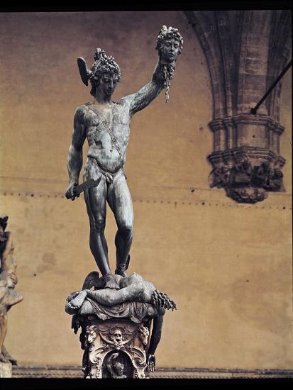 Perseus With The Head Of Medusa 1545 53 Giclee Print By Benvenuto Cellini Art Com