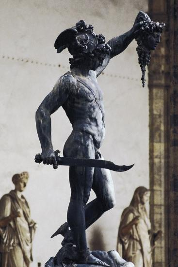 Perseus with the Head of Medusa--Photographic Print