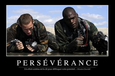 Persévérance: Citation Et Affiche D'Inspiration Et Motivation