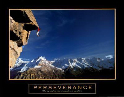 Perseverance: Cliffhanger--Art Print