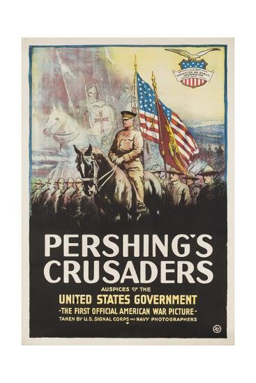 Pershing's Crusaders Poster--Giclee Print