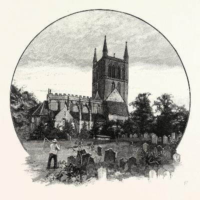 Pershore Church, from the North East--Giclee Print