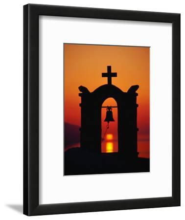 Church Bell Tower, Ios Town, Greece