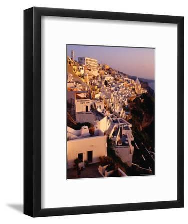 Town Buildings, Fira, Greece
