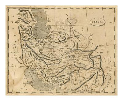 Persia, c.1812-Aaron Arrowsmith-Art Print