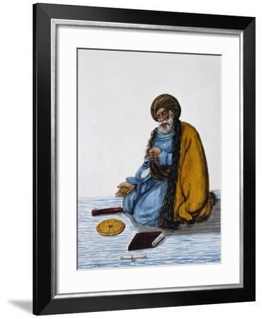 Persian Beggar, Middle East--Framed Giclee Print