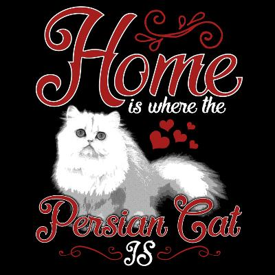 Persian Cat Pet-Wonderful Dream-Art Print