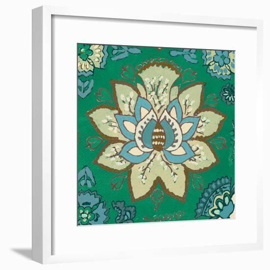 Persian Emerald II-Lanie Loreth-Framed Premium Giclee Print