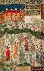 Persian Garden, 15th Century