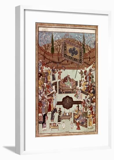 Persian Miniature, 1567--Framed Giclee Print