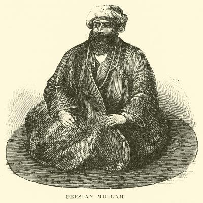 Persian Mollah--Giclee Print