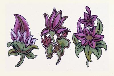 Persian Ornament--Giclee Print
