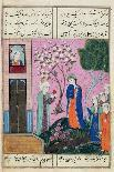 """Portrait of a Persian Lady"", Folio from the Davis Album, c.1736-37-Persian School-Giclee Print"