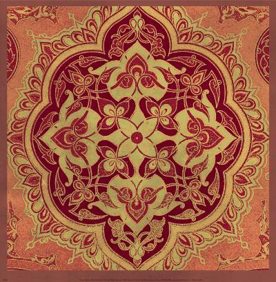 Persian Tiles I-Paula Scaletta-Art Print