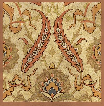 Persian Tiles III-Paula Scaletta-Art Print