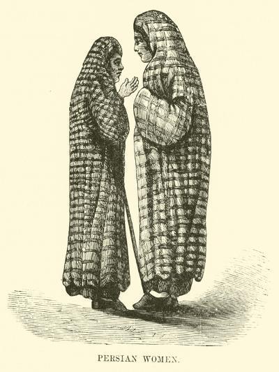 Persian Women--Giclee Print