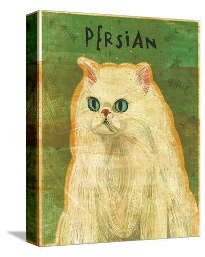 Persian-John Golden-Stretched Canvas Print